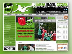 FFC Gera Homepage