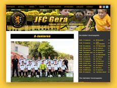 JFC Gera Homepage