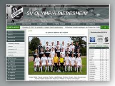 Olympia Biebesheim Homepage