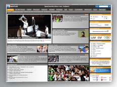 Referenz Sportportal