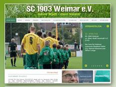 SC 1903 Weimar Homepage